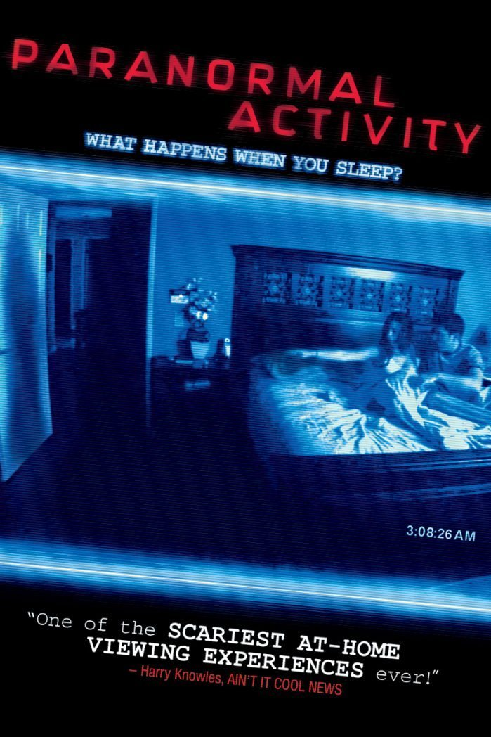 Paranormal Acitvity Poster
